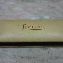 levrette vintage watch box red logo very nice condition