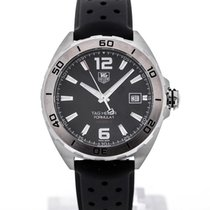 TAG Heuer Formula 1 Automatic 41 Rubber Strap Black Dial