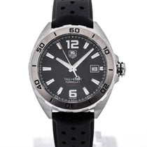 TAG Heuer Formula 1 Automatic 41 Rubber Strap Black Dial...