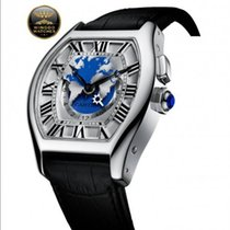 Cartier - TORTUE MULTI FUSO ORARIO MODELLO XXL