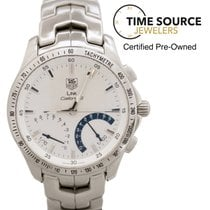 TAG Heuer Link Caliber S Stainless Steel White Dial  40mm...