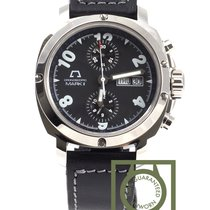 Anonimo Cronoscopio Mark II Shiny black dial NEW