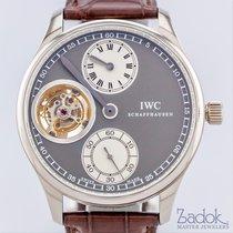 IWC Portugueser Tourbillon Regulator 18K White Gold 43mm Men's...