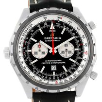 Breitling Chronomatic Chronograph Left Crown Mens Watch A41360