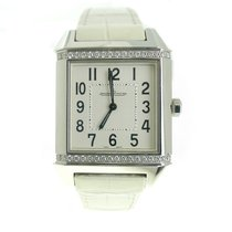 Jaeger-LeCoultre New Ladies  Reverso Squadra Diamond Stainless...