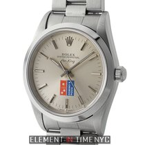 Rolex Air-King Stainless Steel Domino's Silver Dial 34mm...