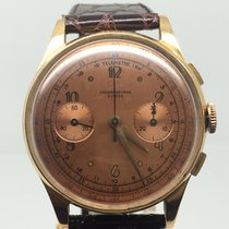 Chronographe Suisse Cie CHRONOGRAPH PINK GOLD NICE CONDITION