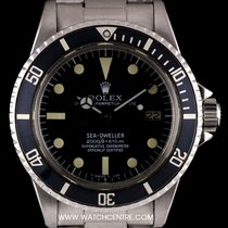 Rolex S/S O/P Mark II Rail Dial Sea-Dweller Vintage B&P 1665