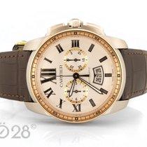 Cartier NEU -34% Cartier Calibre Chrono W7100043 Stahl Rotgold...