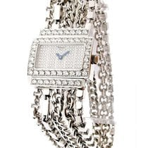 Chopard Classique Rectangle Boutique Special Edition in White...