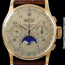 Patek Philippe 1518 Perpetual Calendar Moonphase Chronograph...