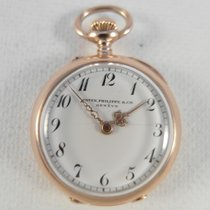 Patek Philippe SALE: 18 k gold rare pocket watch ca 1895,...