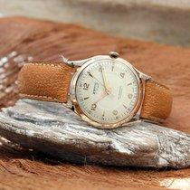 Astin Vintage Herren Armbanduhr 750er Gelbgold Handaufzug von...