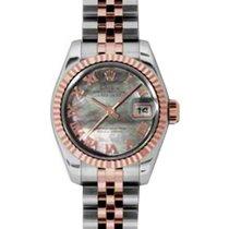 Rolex Lady-Datejust 26 179171-DMOPRJ Dark Mother of Pearl...