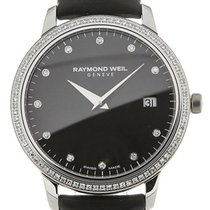 Raymond Weil Toccata 34 Quartz Gemstone Black Dial