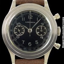 Longines 13zn Vintage Chronograph Steel Black Dial