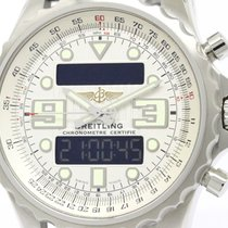 Breitling Polished Breitling Chronospace Stainless Steel...