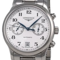 Longines Master Collection Chronograph Stainless Steel Mens...