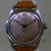 Doxa vintage meca military steel with anti magnetic cover cal...