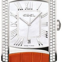 Ebel 1215722, 9255m48/9230301289c Brasilia in Steel with 2 Row...