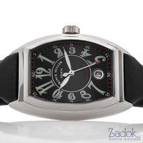 Franck Muller Conquistador Automatic Watch Black Dial 8005 SC...