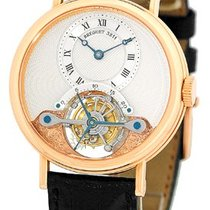 "Breguet ""Tourbillon"" Strapwatch."
