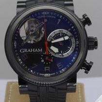Graham Tourbillograph Trackmaster Black PVD Limited 100 Pcs -...