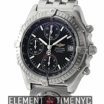 Breitling Chronomat Blackbird Original UTC 40mm Stainless...
