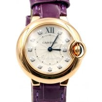 Cartier Ballon Bleu De Cartier WJBB0019 Ladies 28mm Rose Gold...