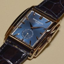 Patek Philippe [NEW] Gondolo 5124G-011 White Gold Blue...