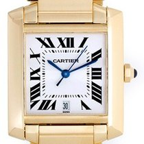 Cartier Tank Francaise Men's 18k Yellow Gold Automatic...