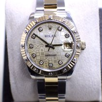 Rolex Datejust Midsize 31MM 18K & Stainless Jubile MOP