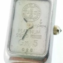 Corum CERTIFIED $4,950 PLATINUM 5 GRAM USB BAR INGOT DIAMOND