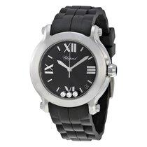 Chopard Ladies 278475-3014 Happy Sport Round 3-Diamonds  Watch