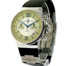 Ulysse Nardin Maxi Marine Chronograph in Steel