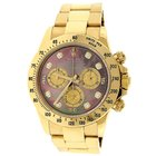 Rolex Cosmograph Daytona 18K Gold Dark MOP Watch 116508