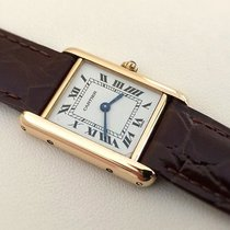 Cartier Tank Francaise Lady Yellow Gold 18 krt (28 x 20 mm)