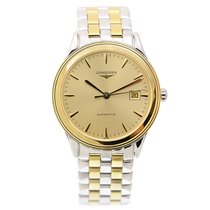 Longines Flagship Gold-plated Stainless Steel Gold Automatic...