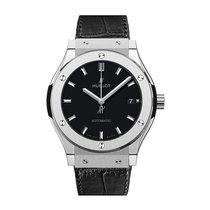 Hublot Classic Fusion 38mm Automatic Titanium Mens Watch Ref...