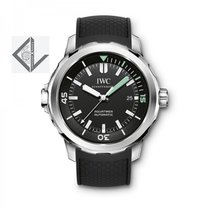 IWC Aquatimer automatic Stainless Steel Black Dial 42mm