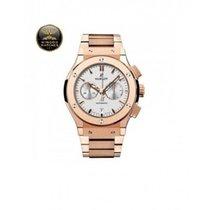 Hublot - Classic Fusion Chronograph King Gold Bracelet Opa...
