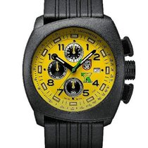 Luminox Mens Tony Kanaan PC Carbon - Yellow Dial - Black Case...