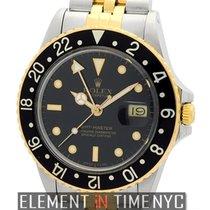 勞力士 (Rolex) GMT-Master Steel & Gold Black Dial Circa 1986...