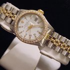 Rolex Two-tone Peg, Roman Date With A White Dial 6917