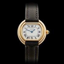 Cartier Ellipse 18k Yellow Gold Ladies