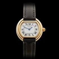 Cartier Ellipse 18k Yellow Gold Ladies