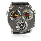 B.R.M 3MVT-52 Three Time Zone Automatic Titanium Watch