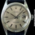 Rolex 1601 Datejust Steel Automatic Fluted Bezel