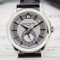 Patek Philippe Annual Calendar Silver Dial 18K White Gold