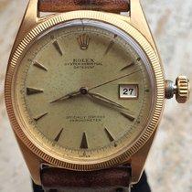 Rolex Date Just 6305 OCC Swiss Yellow Gold